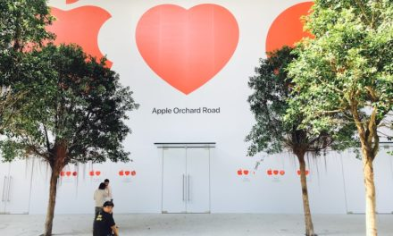 Apple's first retail store in Singapore is opening soon