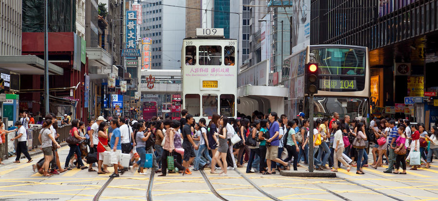 5 themed walking routes in Central Hong Kong
