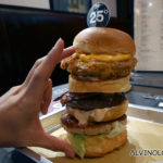 Can you wolf down this massive 1kg triple layer ultimate burger at 25 Degrees Singapore?