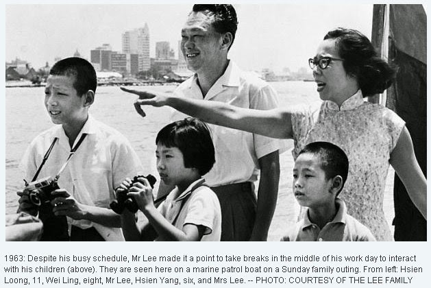 Five Parenting Tips from the late Mr Lee Kuan Yuan - Alvinology
