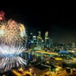 Catch pre-National Day's fireworks at Mandarin Oriental Singapore with Fireworks in Marina Bay package