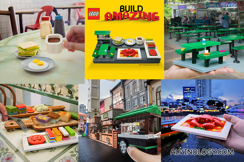 How to get full set of LEGO Singapore Food Culture Mini-Builds