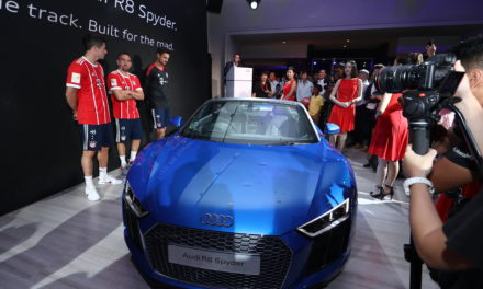 FC Bayern Munich Stars In Singapore To Launch All-New Audi R8 Spyder