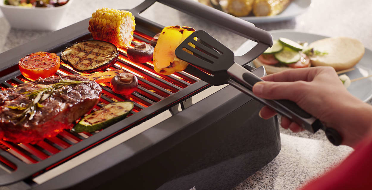 Eat healthier and tastier with Philips Smoke-less Indoor Grill