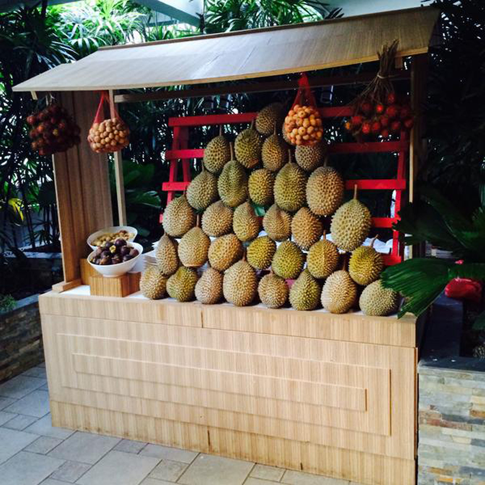 All-you-can-eat durian buffet with barbecued meat and fresh seafood at Mandarin Oriental - Alvinology