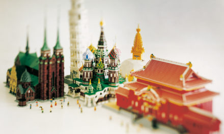 World art heritage exhibition made up of Lego bricks debuts in Singapore