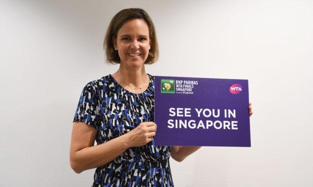 Lindsay Davenport named 2017 BNP Paribas WTA Finals Legend Ambassador