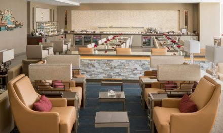 Take a look at Emirates' new airport lounge at the Boston Logan International Airport