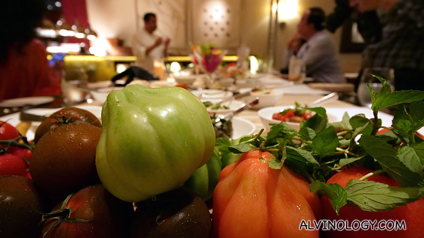 Two weeks only - Middle Eastern fine dining at One-Ninety restaurant in Four Seasons Singapore - Alvinology