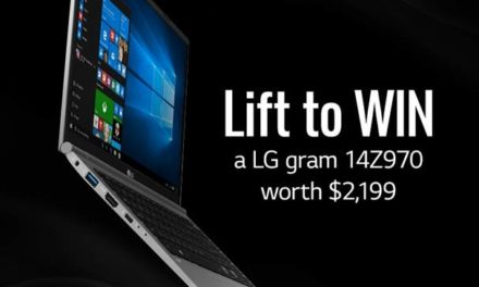 LG Contest: Spot and lift with LG to win a brand new LG Gram