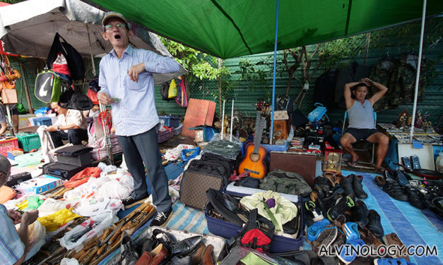 One last visit to Sungei Road flea market – before it all ends