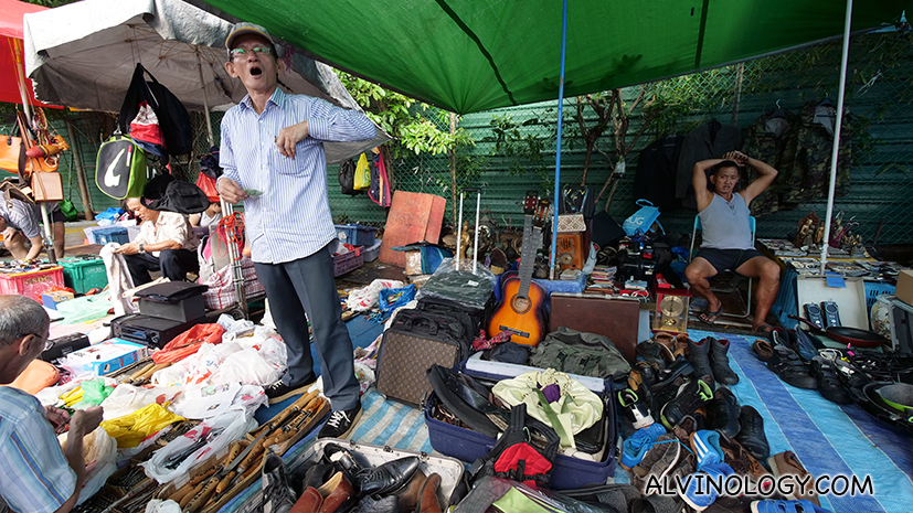 One last visit to Sungei Road flea market - before it all ends - Alvinology