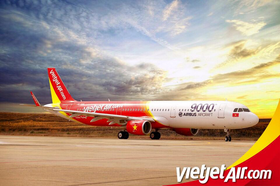 Vietjet Air's Promo Fares available for booking everyday from 1-3pm until July 14
