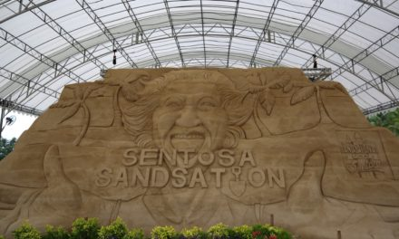 Free entry to Sentosa from 4-10 September to see huge sand sculpture exhibit!