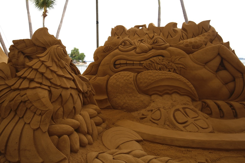 Free entry to Sentosa from 4-10 September to see huge sand sculpture exhibit! - Alvinology