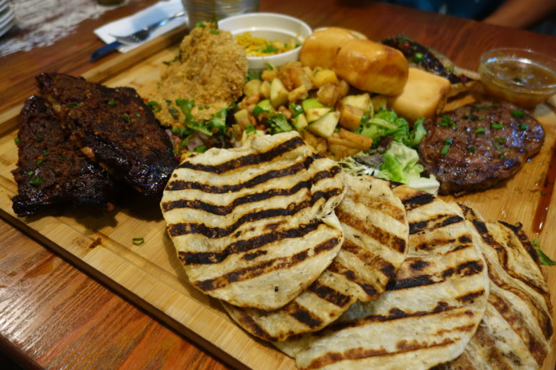 For all the meat lovers out there: a special meat platter just for the local taste buds - Alvinology