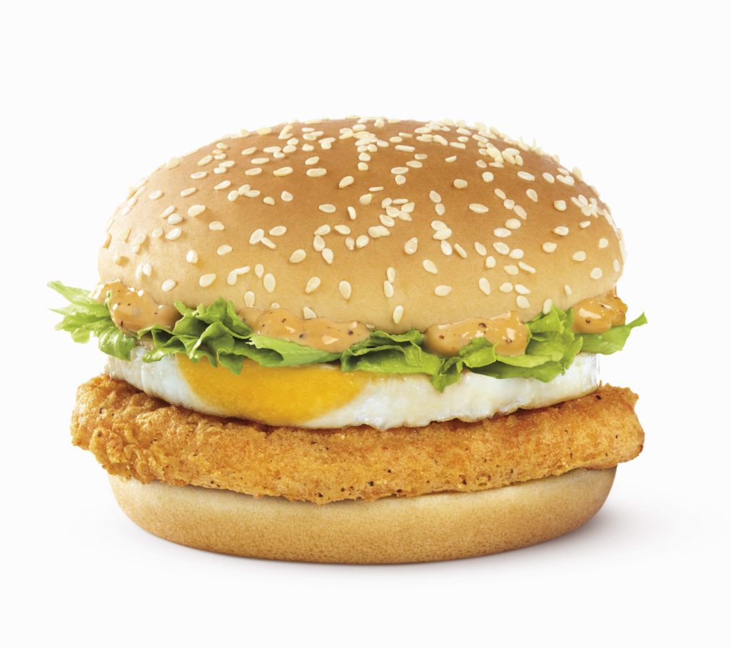 McDonald's brings back BBQ Beef Burger with Egg, launches Black Pepper Mayo Chicken with Egg Burger - Alvinology