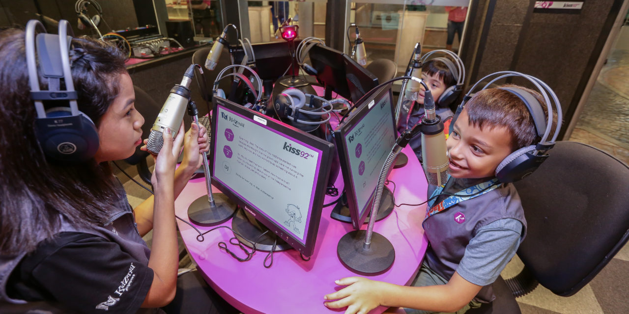Play with cashless vending machines, robots and drones for the KidZ & Tech event at KidZania Singapore
