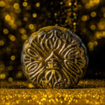 Gold dusted Mao Shan Wang durian snowskin mooncake