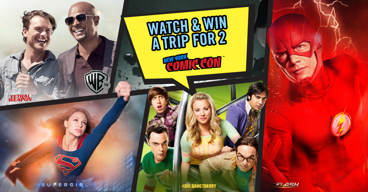 WarnerTV could send you to New York Comic Con 2017 for free - Alvinology