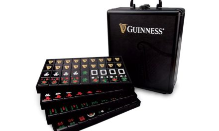 Love beer and mahjong? This Guiness Set is for you!
