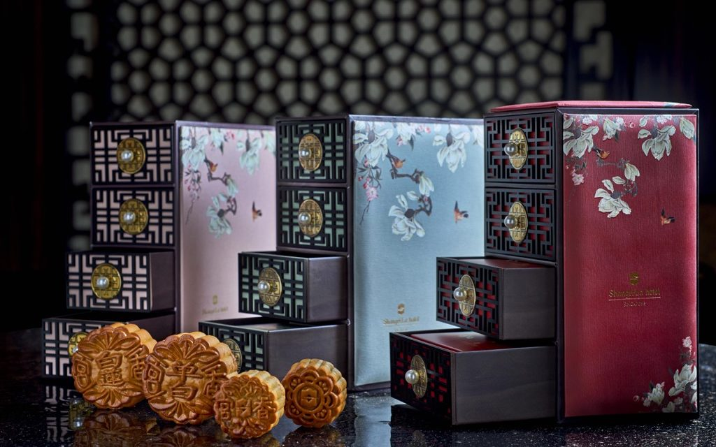 Shang Palace at Shangri-La Hotel offers gorgeous mooncakes that may be too good to eat