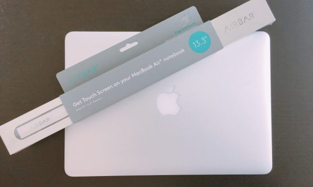 You can now transform your Macbook Air into a Touchscreen laptop with this beautiful gadget!