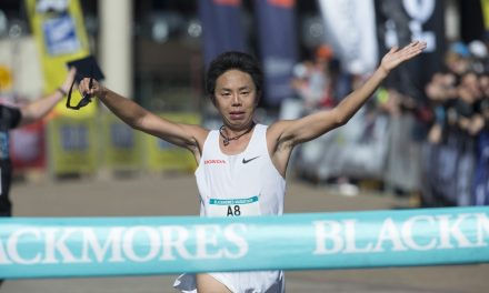 Japan wins third year in a row in the men's category for Blackmores Sydney Running Festival; Makda Harun Haji beats women's record for Australia