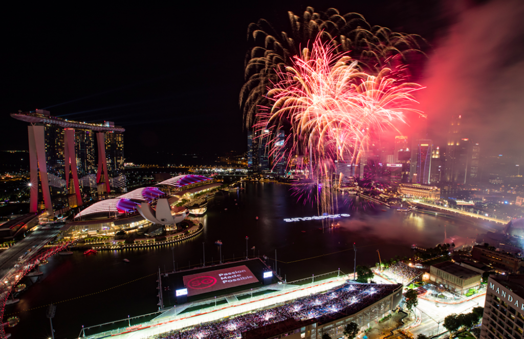 EDM acts Calvin Harris and The Chainsmokers bring the party to 2017 F1® Singapore Grand Prix - Alvinology