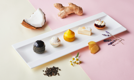 Revel in a bespoke spa-inspired afternoon tea at Axis Bar and Lounge in Mandarin Oriental, Singapore
