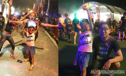 The Color Run Night Edition was a blast in Singapore for runners of all ages