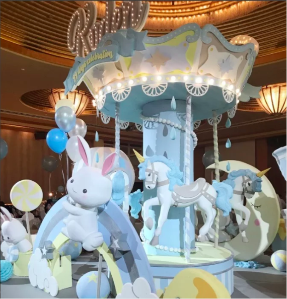 Kim Lim celebrates baby Kyden's 99th day with a huge party - Alvinology
