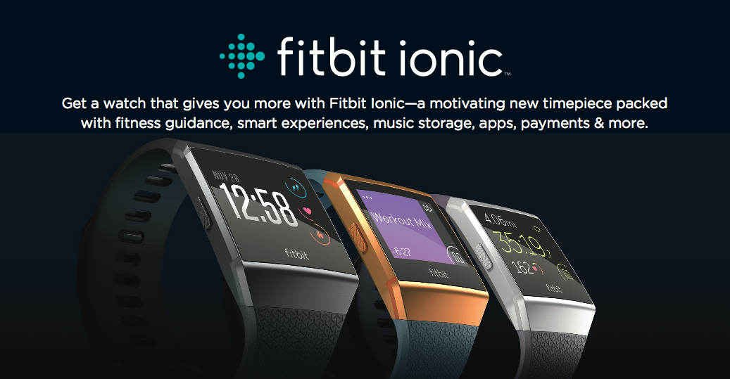 Fitbit Ionic and Fitbit Flyer now available on Lazada and major retailers