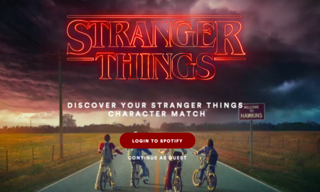 Need more Stranger Things 2? Get a Spotify playlist based on YOUR Stranger Things 2 character