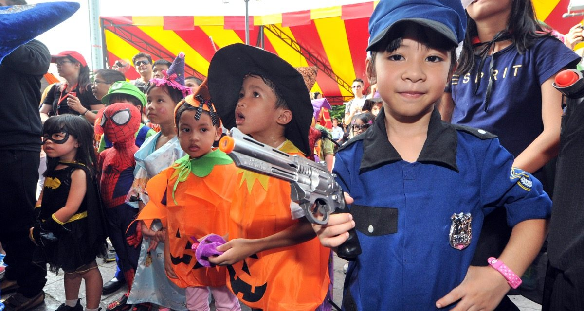 Kids 3-11 can enter LEGOLAND Malaysia's Brick-or Treat event for free if they come in full costume