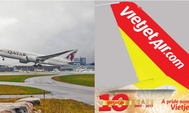 Vietjet + Qatar Airways lets you travel from Vietnam and Taiwan to Doha nonstop