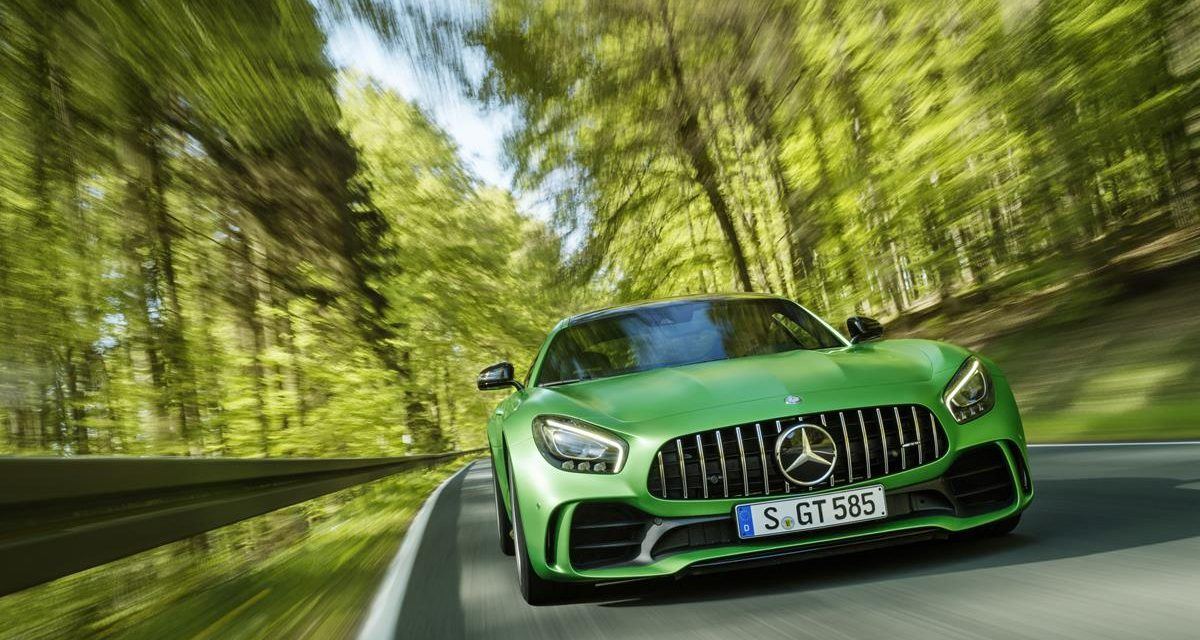All the specs and photos of the new Mercedes-AMG GT R–which is basically a production-level racing vehicle