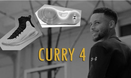 Under Armour's Much Awaited Curry 4 Finally Launched