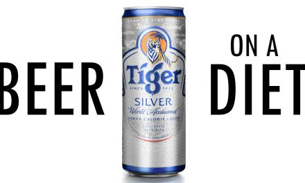 Beer Lovers Will Find It Hard To Stop Downing This New Low-Calorie 'Tiger Silver' Beer