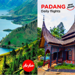 AirAsia offers promo fares for Medan and Padang until November 11 to celebrate two new routes to Indonesia