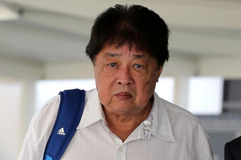 Tay Yong Kwang, 69, was fined $1,000 for leaving flour around Woodleigh MRT station causing the station to be shut down. Photo via Straitstimes.com