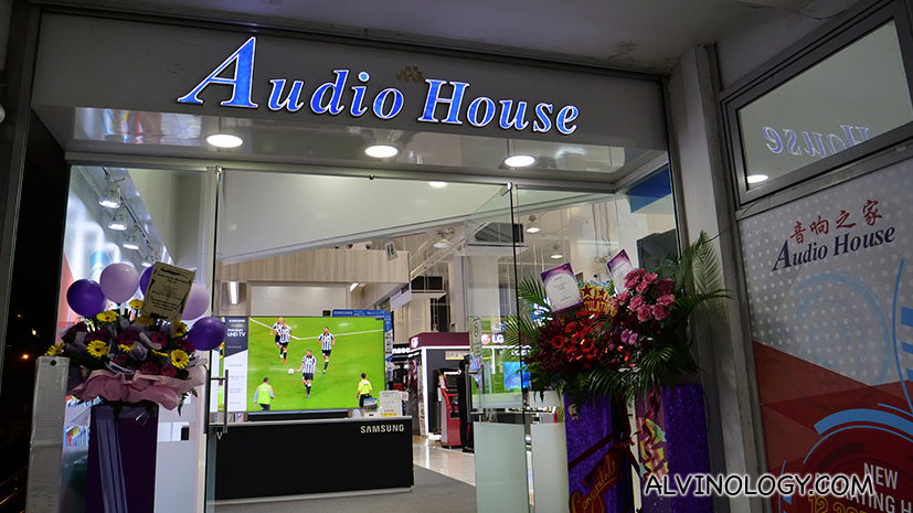 Audio House downsized to only one store in Singapore and it is completely cashless - Alvinology