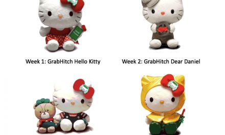 Last chance to win a full set of Grab x Hello Kitty plushies or get the last one from November 6 – 12