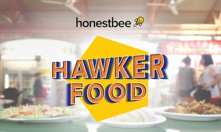 honestbee's Hawker Food delivery service is now available within the Central Business District, 11am-2pm from Monday to Friday