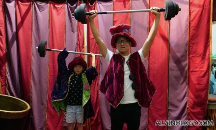 Learn the Science behind Circus Acts through the ages at the Science Centre Singapore