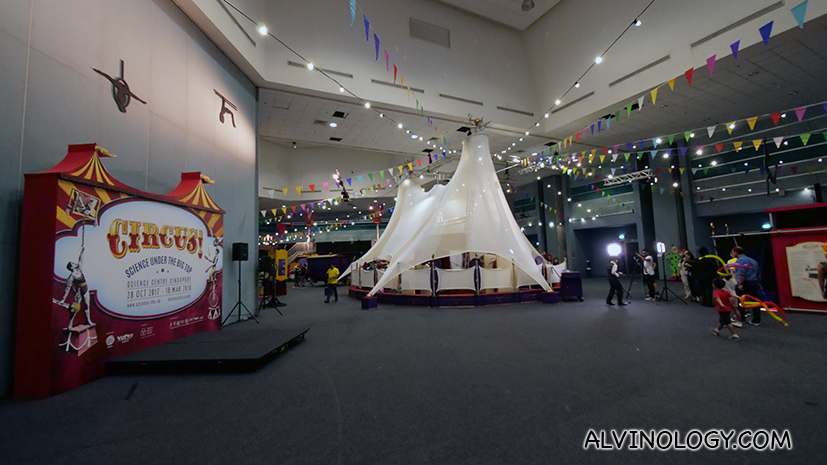 Learn the Science behind Circus Acts through the ages at the Science Centre Singapore - Alvinology