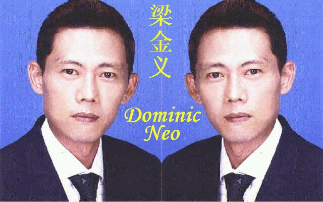 Who is Dominic Neo (梁金义) a.k.a. Liang Ji (梁记粿条王)? - Alvinology