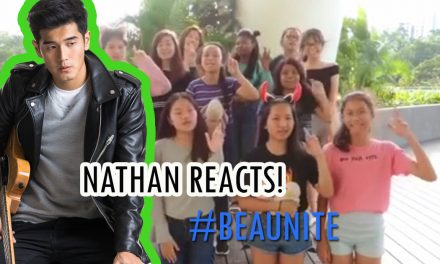 "Nathan Hartono supports ""BEAUNITE"""