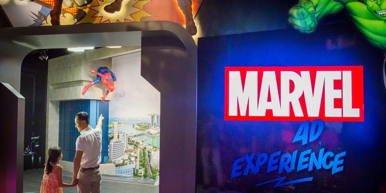 Madame Tussauds gets a new permanent Marvel 4D Experience exhibit