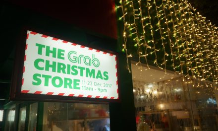 GrabRewards Christmas Store – Singapore's only 100 percent 'Cashless' pop-up store